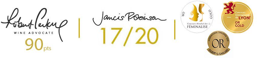 Note vin Parker et Jannis Robinson
