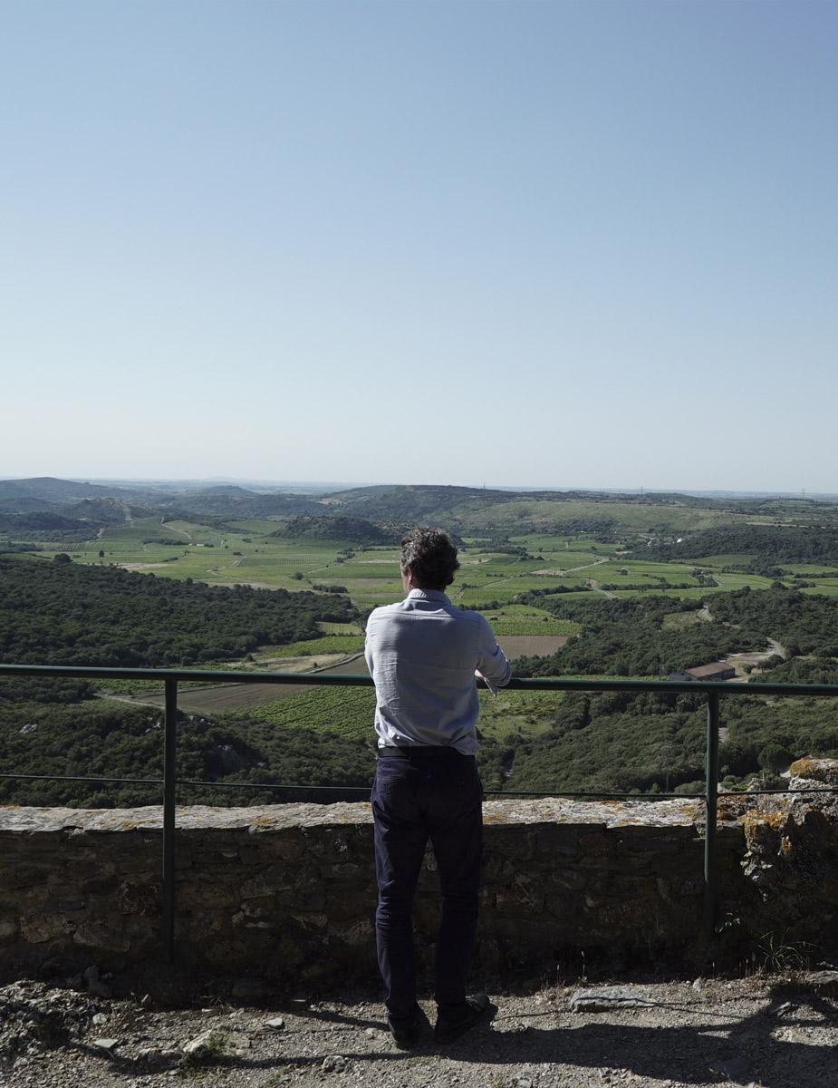 Vue chateau Roquessels